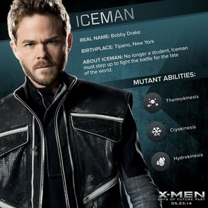 X-Men: Days of Future Past - Iceman/Bobby mannetjeseend, drake Dossier