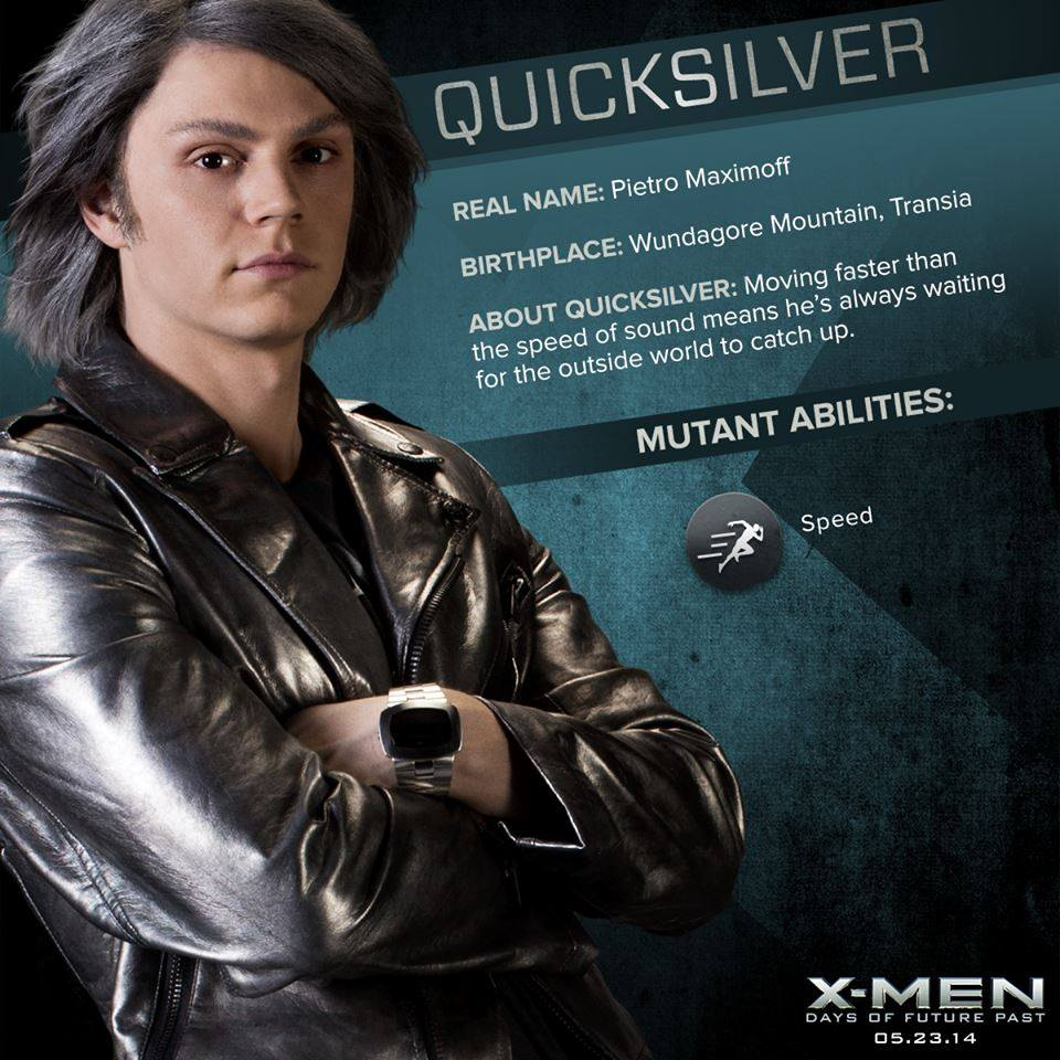 Men  Days of Future Past X-Men  Days of Future Past - Quicksilver    X Men Quicksilver