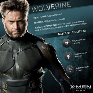 X-Men: Days of Future Past - Wolverine/Logan Howlett Dossier