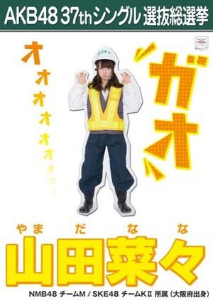 Yamada Nana 2014 Sousenkyo Poster