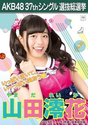 Yamada Reika 2014 Sousenkyo Poster