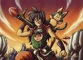 Yamcha and Puar - dragon-ball-z fan art