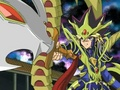 Yami Yugi in armor: Capsule Monsters