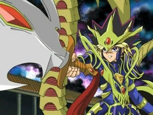 Yami Yugi in armor: Capsule Monsters