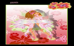 Yasmin loves Flora