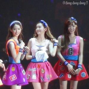Yoona , Jessica , Tiffany @GG3rdJPNTOUR