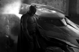 Zack Snyder Reveals Ben Affleck Batman and Batmobile