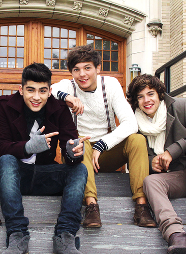 One Direction images Zayn, Louis and Harry - Gotta Be You ...