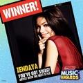 Zendaya RDMA Winner ! - zendaya-coleman photo