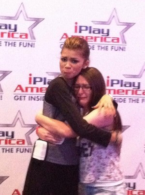 Zendaya at iPlayAmerica