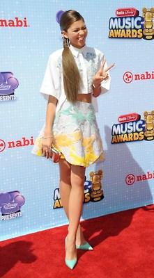 Zendaya at the 2014 RDMA Red Carpet (April 27, 2014)