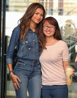 Zendaya - out and about in NYC 01/05/14