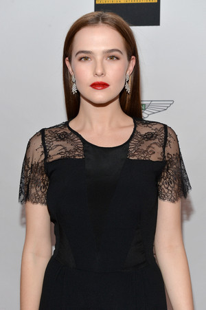 Zoey at the Race to Erase MS 2014 Gala
