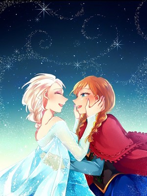 animê Frozen - Uma Aventura Congelante