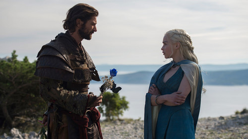Daenerys Targaryen fond d'écran called daenerys and daario