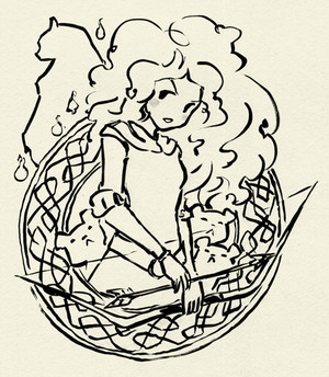 디즈니 pixar's 메리다와 마법의 숲