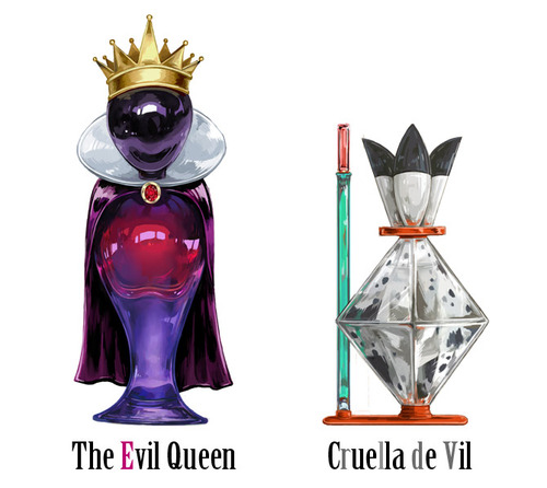 Cruella DeVil achtergrond called disney villain perfume