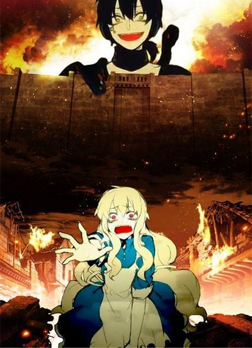 Mekaku City Actors Обои containing Аниме titled fff