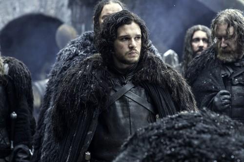 House Stark wallpaper containing a fur coat called jon snow night's watch