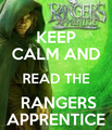 keep calm and read rangers apprentice