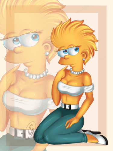 Lisa Simpson wallpaper with anime called lisa simpson