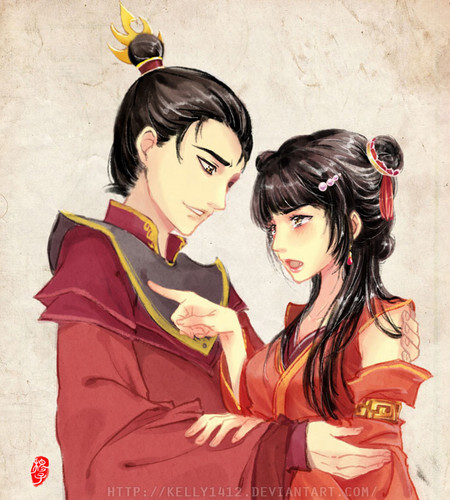 Avatar: The Last Airbender achtergrond probably containing anime called mai and zuko