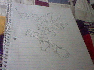 my own drawing of shadow.