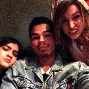 new picture of blanket {with paris and randy}