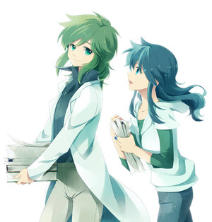 Shunny and Ryuho------