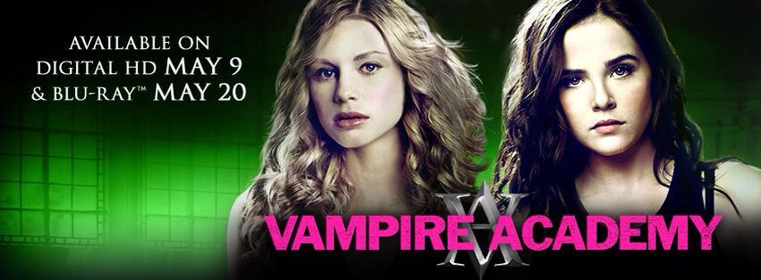 Vampire Academy DVD & Blu-Ray