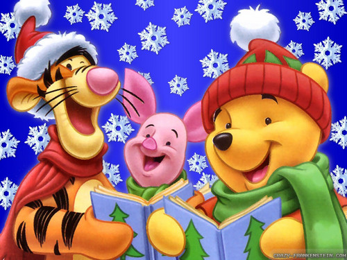 Winnie the Pooh wallpaper entitled ngaroling >u<