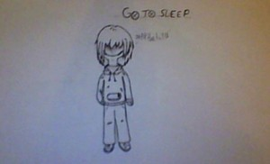 not colored Jeff the killer