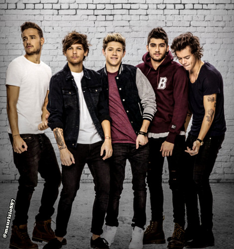 একমুখী দেওয়ালপত্র containing a business suit, a hip boot, and a well dressed person called one direction,photoshoot 2014