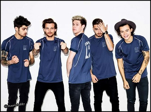 One Direction wallpaper probably containing long trousers, a workwear, and an outerwear entitled one direction, photoshoot 2014
