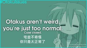 otakus arent weird