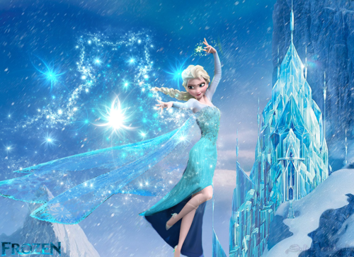 La Reine des Neiges fond d'écran called princesa elsa