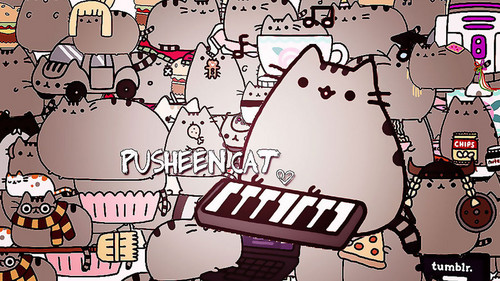 Exceptional Pusheen The Cat Wallpaper Probably With Anime Called Pusheen Cat
