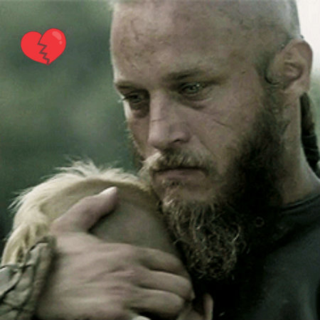 Vikings (TV Series) images ragnar w/ son wallpaper and background