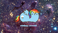 rainbow dash pusheen
