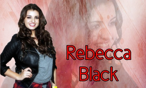 Rebecca Black fondo de pantalla probably with a hip boot called rebecca red