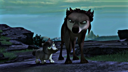 Alpha and Omega 2: a howl-iday adventure پیپر وال titled runt and terra