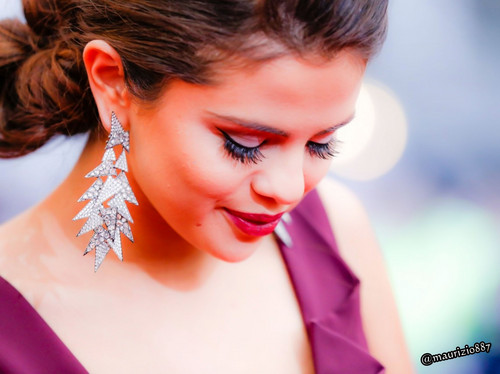 Селена Гомес Обои containing a portrait called selena gomez NY 2014