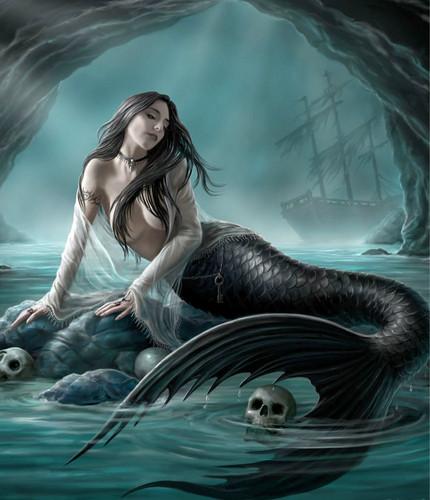 Mermaids wallpaper titled siren