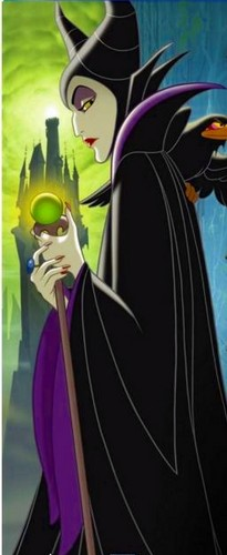 Maleficent achtergrond possibly containing anime called sleeping beauty