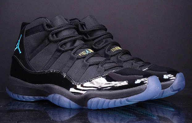 air jordan 11 black blue