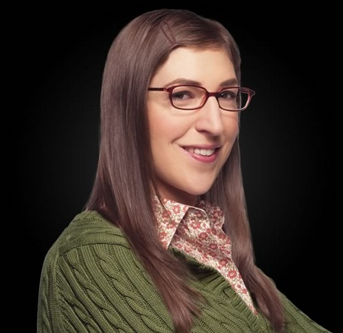 The Big Bang Theory wallpaper called tbbt-Amy Farrah Fowler