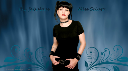 Pauley Perrette wallpaper possibly containing a portrait entitled the fabulous Miss Sciuto