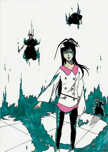 animé Bleach fond d'écran containing animé entitled *Giselle Gewelle*