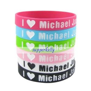 """I Любовь Michael Jackson"" Bracelets"