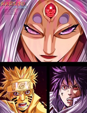 *Kaguya V/S Naruto / Sasuke*